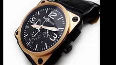 bell and ross bell ross br01 94 chronograph 18k gold and black