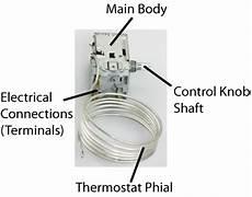 fridge and freezer thermostats self repair