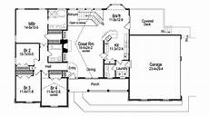 ashbriar atrium ranch house plans house plans with