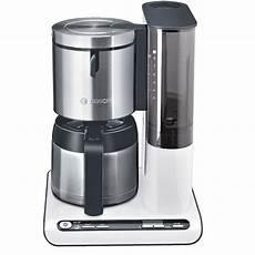 kaffeemaschine weiß mit thermoskanne bosch tka 8651 filterkaffeemaschine mit thermokanne