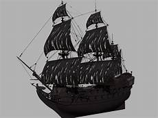 the black pearl 3d model sharecg