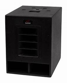 pa powered subwoofers sw small powered pa 15 quot subwoofer 2x 12 quot foh speakers sw