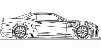 Bumblebee Car Chevy Camaro Coloring Pages  Best Place To
