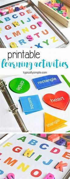 learning activities binder free printable kids activities preschool learning activities
