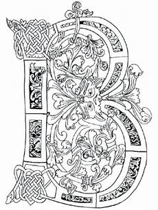 illuminated letters coloring pages at getcolorings