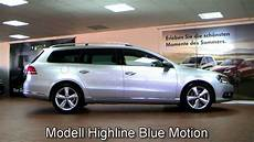 volkswagen passat variant 2 0 tdi highline blue motion