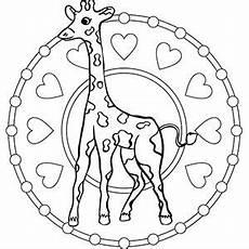 Malvorlagen Gratis Mandala Tiere Ausmalbilder Tierkinder