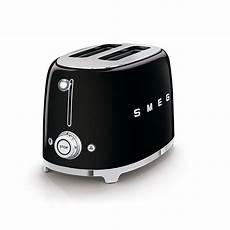 toaster schwarz smeg 2 scheiben toaster schwarz retro style hungerk