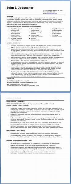 electrical engineer resume sle doc experienced