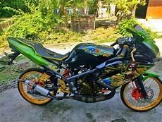 Motor Rr Modifikasi by 7 Gambar Modifikasi Motor Rr 150 Cc 2 Tak Warna