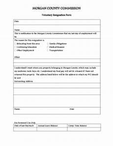 voluntary resignation form fill online printable fillable blank pdffiller