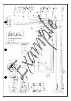 1994 lincoln continental foldout wiring diagram 94 electrical schematic original ebay