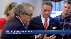 ohio attorney common mike dewine dewine praises belmont county s efforts to curb the opioid