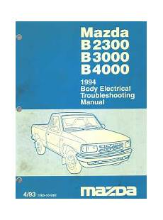 small engine service manuals 1994 mazda protege spare parts catalogs 1994 mazda b2300 b3000 b4000 body electrical troubleshooting manual