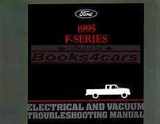 electric and cars manual 2009 ford e series electronic throttle control shop manual electrical 1995 truck ford pickup service repair book f150 f250 f350 ebay