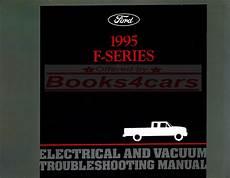 auto repair manual online 1995 ford f250 windshield wipe control shop manual electrical 1995 truck ford pickup service repair book f150 f250 f350 ebay