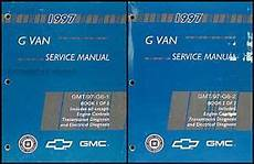 free download parts manuals 1997 chevrolet express 1500 parking system 1997 chevy express gmc savana van shop manual set 97 g1500 g2500 g3500 chevrolet ebay