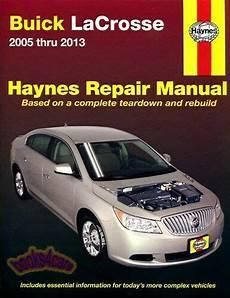 shop manual lacrosse service repair buick book haynes chilton la crosse ebay