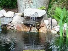 Garten Wasserfall Selber Bauen Bachlauf Fr Gartenteich