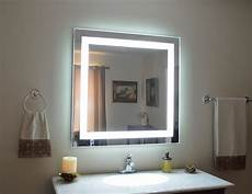 mam84040 40 quot 40 quot lighted vanity mirror wall mounted led makeup mirror ebay