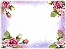 bordure en fleur cadres frame rahmen quadro png frames bordas