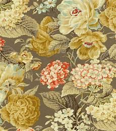 home decor fabrics home decor print fabric waverly floral flourish clay joann