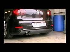 golf 5 gti sportauspuff fsw exhausts sportauspuff komplettanlage vw golf v gti