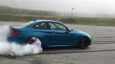 bmw f87 m2 coupe drifting burnout donuts youtube