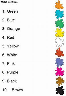 colors worksheets esl 12689 colours match interactive worksheet