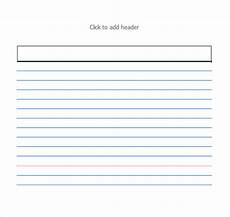 index card template docs index card template cyberuse