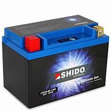 retrouvez votre batterie lithium ion shido pour moto ltx16
