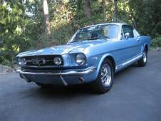 Classic 1965 Ford Mustang K Code Fastback
