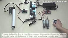 verin electrique 12v effet kit 201 metteur r 233 cepteur 201 lectrique pour moteur 2 canaux 4