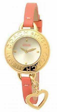 Coach S Bangle Phoebe Collection Gold Bezel