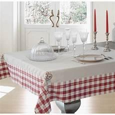 nappe de table style vintage quot cervin brod 233 quot 150 x 250