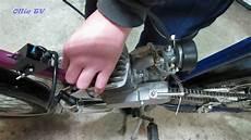 fahrrad mit benzinmotor selber bauen kleinteile und test