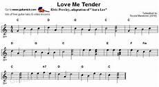 easy songs on guitar me tender easy guitar lesson guitarnick