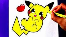 dessin facile comment dessiner b b pikachu kawaii dessin facile