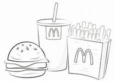 Malvorlagen Mc Mcdonalds Coloring Pages Free Educative Printable