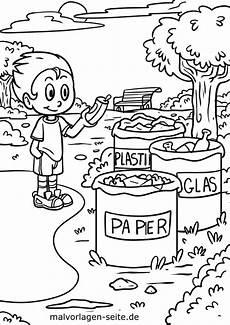 Malvorlagen Umwelt Malvorlage Umweltschutz M 252 Lltrennung Kostenlose Ausmalbilder