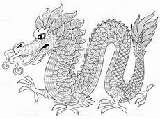 Ausmalbilder Mandalas Drachen In Zentangle Style Antistress