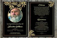 free template funeral cards funeral program card template v503 brochure templates
