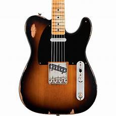 Fender Road Worn 50s Telecaster Electric Guitar 2 Color
