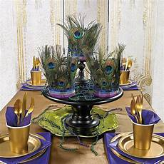 how to peacock feather centerpieces orientaltrading com