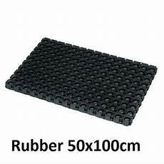 Black Rubber Door Mats Outside by Rubber Door Mat Ebay