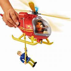 feuerwehrmann sam bergwacht hubschrauber helikopter mit