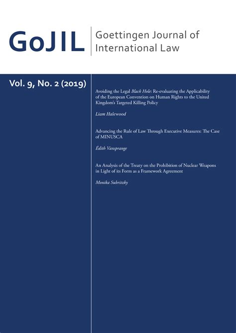 International Environmental Agreements Journal