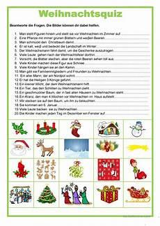 Kostenlose Malvorlagen Weihnachten Quiz Weihnachten Quiz Arbeitsblatt Kostenlose Daf