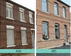 refaire sa facade ravalement facade maison brique ventana