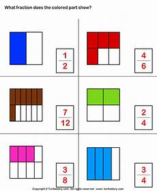 fraction worksheets shaded unshaded 4095 select fraction representing shaded part worksheet turtle diary